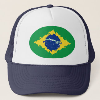 Brazil Gnarly Flag Hat