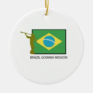 BRAZIL GOIANIA MISSION LDS CHRISTMAS ORNAMENT