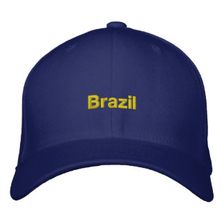 Brazil Hat Embroidered Hats