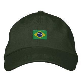 Brazil Hat - Força Brasil! Embroidered Baseball Caps