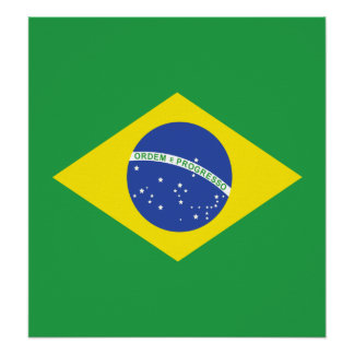 Brazil High quality Flag Posters
