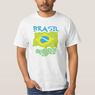 Brazil in the cup t-shirt