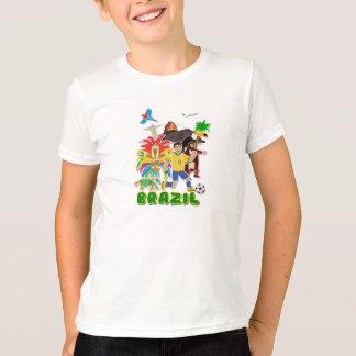 Brazil kids cute T-shirt