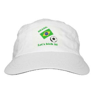Brazil...Let's kick it! Hat