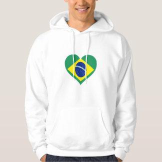 Brazil Love Hoodie