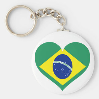 Brazil Love Key Ring
