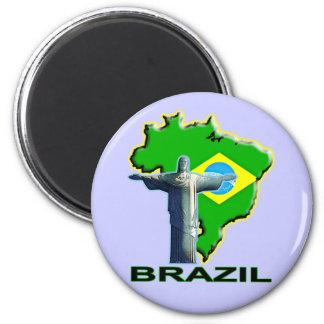 Brazil Refrigerator Magnet
