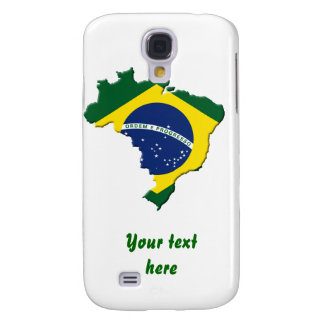 Brazil map galaxy s4 case