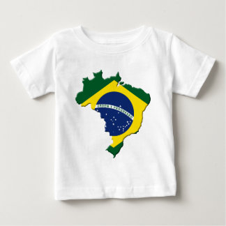 Brazil map t shirt