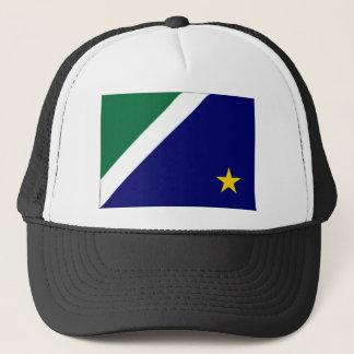 Brazil Mato Grosso do Sul Flag Trucker Hat