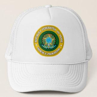 Brazil Medallion Trucker Hat