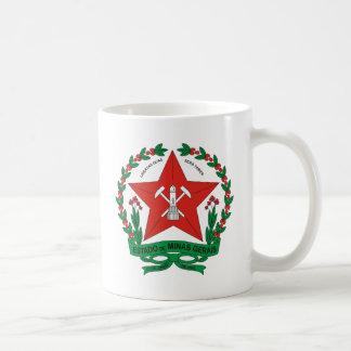 Brazil Minas Gerais Coat of Arms detail Mugs