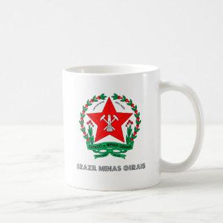 Brazil Minas Gerais Coat of Arms Mugs