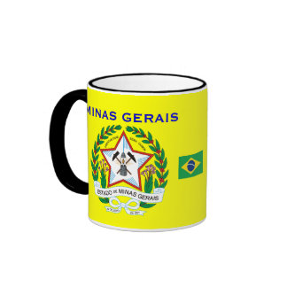 Brazil Minas Gerais* Flag & Crest Mug