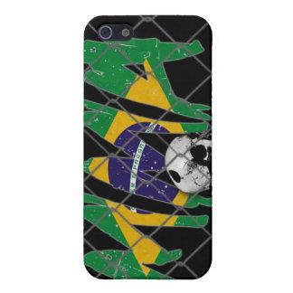 Brazil MMA Skull Black iPhone 4 Case