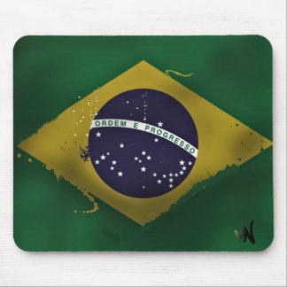 brazil, mouse mat