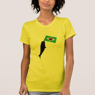 Brazil Narwhal T-Shirt