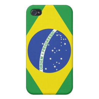 Brazil nation flag  iPhone 4 case