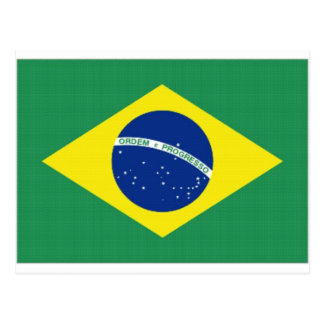 Brazil National Flag Postcards