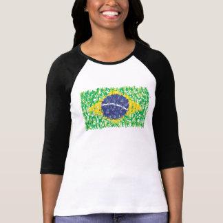 Brazil national soccer flag (Futebol Brasileiro), T Shirts