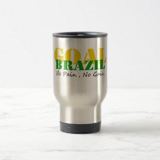 Brazil - No Pain No Gain Coffee Mug