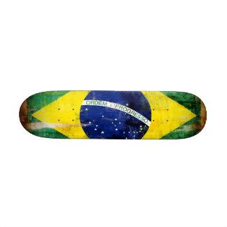 Brazil old flag skate board deck