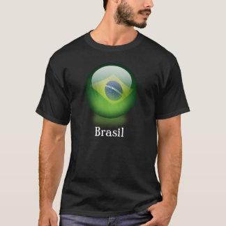 Brazil orb dark T-shirt