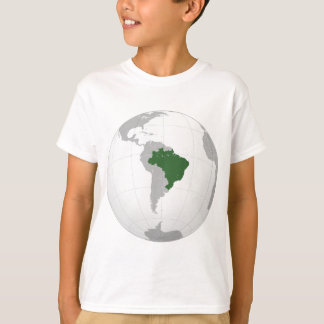 Brazil (orthographic projection) T-Shirt