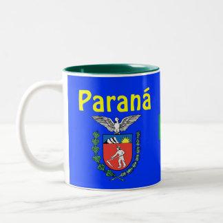 Brazil Paraná *State Coffee Mug  Caneca do Paraná