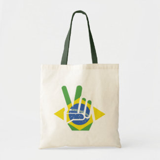 Brazil, Peace Tote Bag