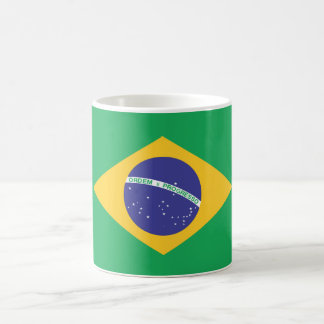 Brazil Plain Flag Coffee Mug