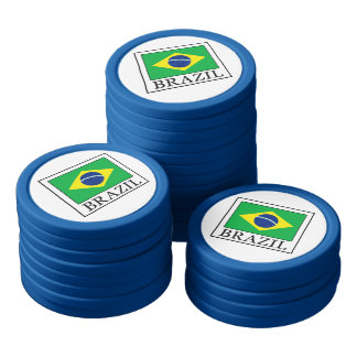 Brazil Poker Chip Set