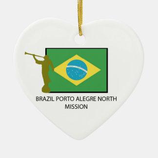 BRAZIL PORTO ALEGRE NORTH MISSION CHRISTMAS ORNAMENT