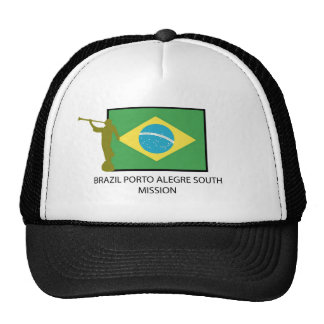 BRAZIL PORTO ALEGRE SOUTH MISSION LDS CAP