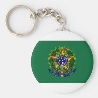 Brazil President Flag Key Chains