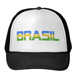 Brazil Products Trucker Hats