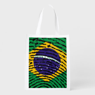 Brazil Reusable Grocery Bag