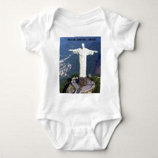 Brazil Rio De Janeiro christ (St.K.) Baby Bodysuit