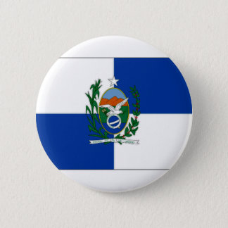 Brazil Rio de Janeiro Flag 6 Cm Round Badge