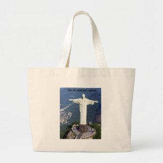 Brazil Rio De Janeiro Jesus (new) (St.K) Large Tote Bag