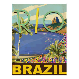Brazil - Rio De Janeiro Post Card