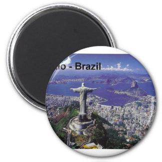 Brazil Rio De Janeiro St K Magnet