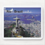 Brazil Rio De Janeiro (St.K.) Mouse Pad
