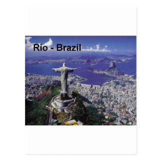 Brazil Rio De Janeiro St K Post Card