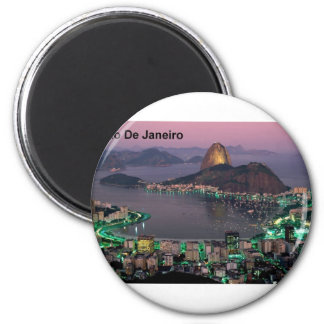 Brazil Rio De Janeiro Sugar Loaf Mountain (St.K.) Magnet