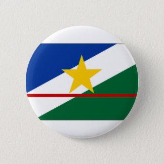 Brazil Roraima Flag 6 Cm Round Badge