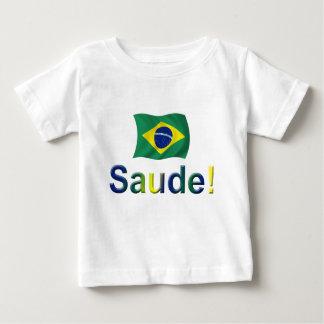 Brazil Saude! Baby T-Shirt
