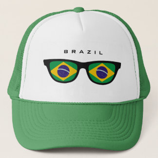 Brazil Shades custom hat