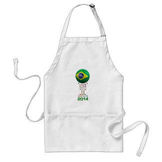 Brazil Soccer 1010 Apron
