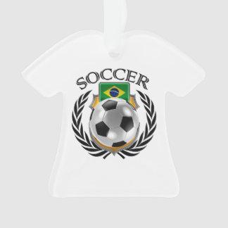 Brazil Soccer 2016 Fan Gear Ornament